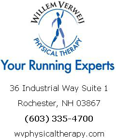 Willem Verwij Physical Therapy | Running Experts | 36 Industrial Way Suite 1 | Rochester, NH 03867 | (603) 335-4700 | wvphysicaltherapy.com